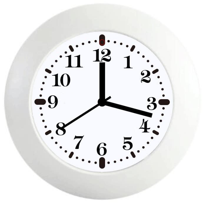 AS100-2 HD WiFi Wall Clock Hidden Camera