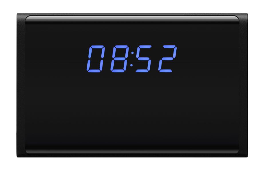 Areaspy AS105 HD LED Clock Hidden Camera