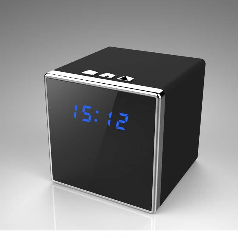 Clock Hidden Nanny Camera