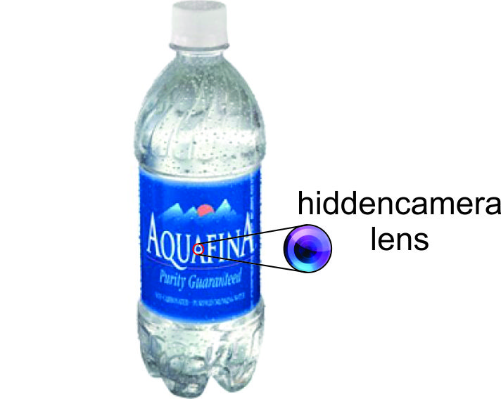 best spy camera in Kenya water bottle hidden camera