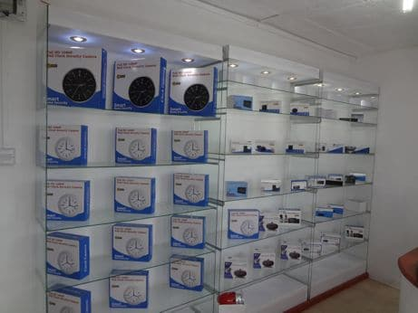 spy camera showroom