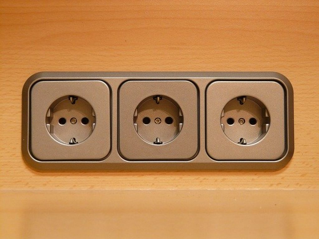 CCTV installation power supply  outlet