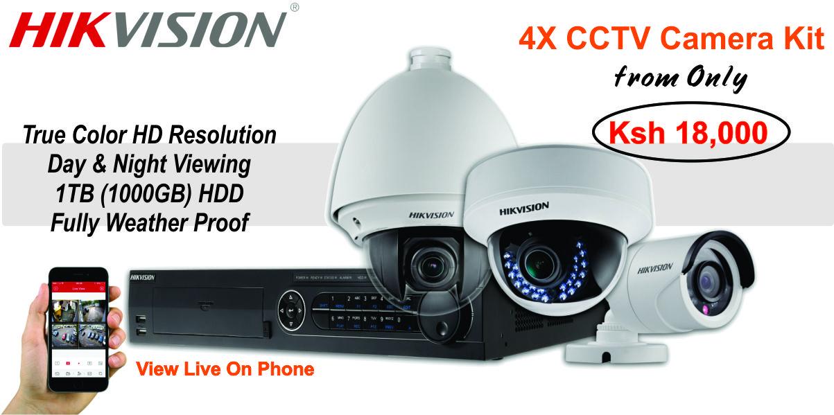 CCTV Camera Installation in Kenya