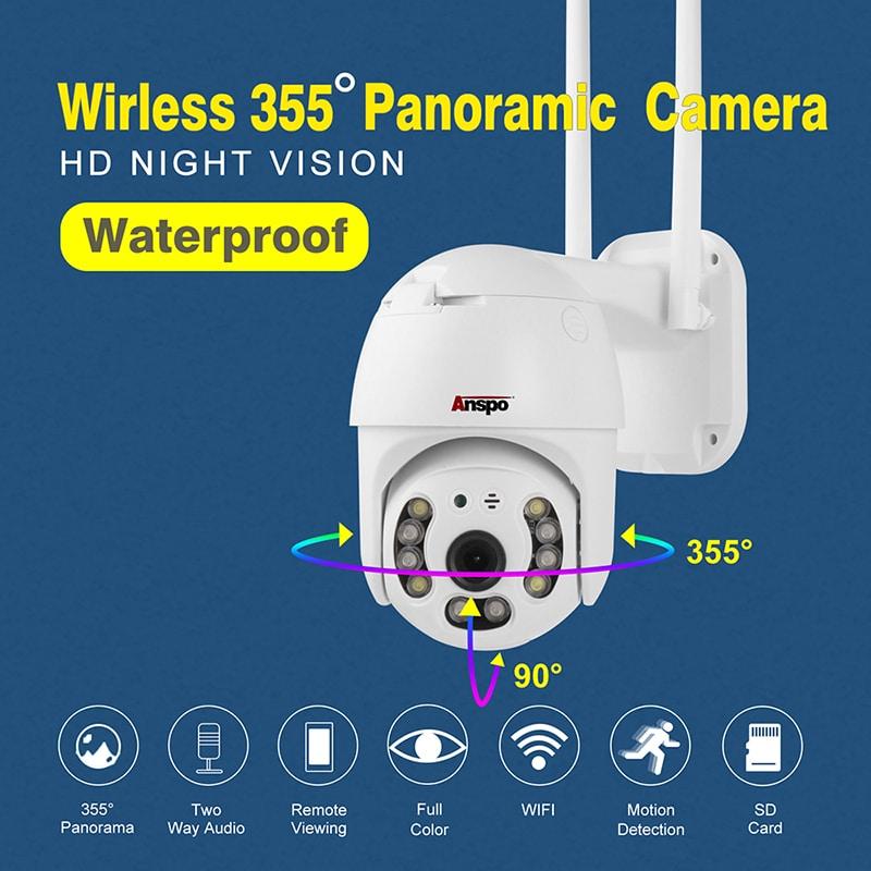 Wireless Outdoor Surveillance Cameras