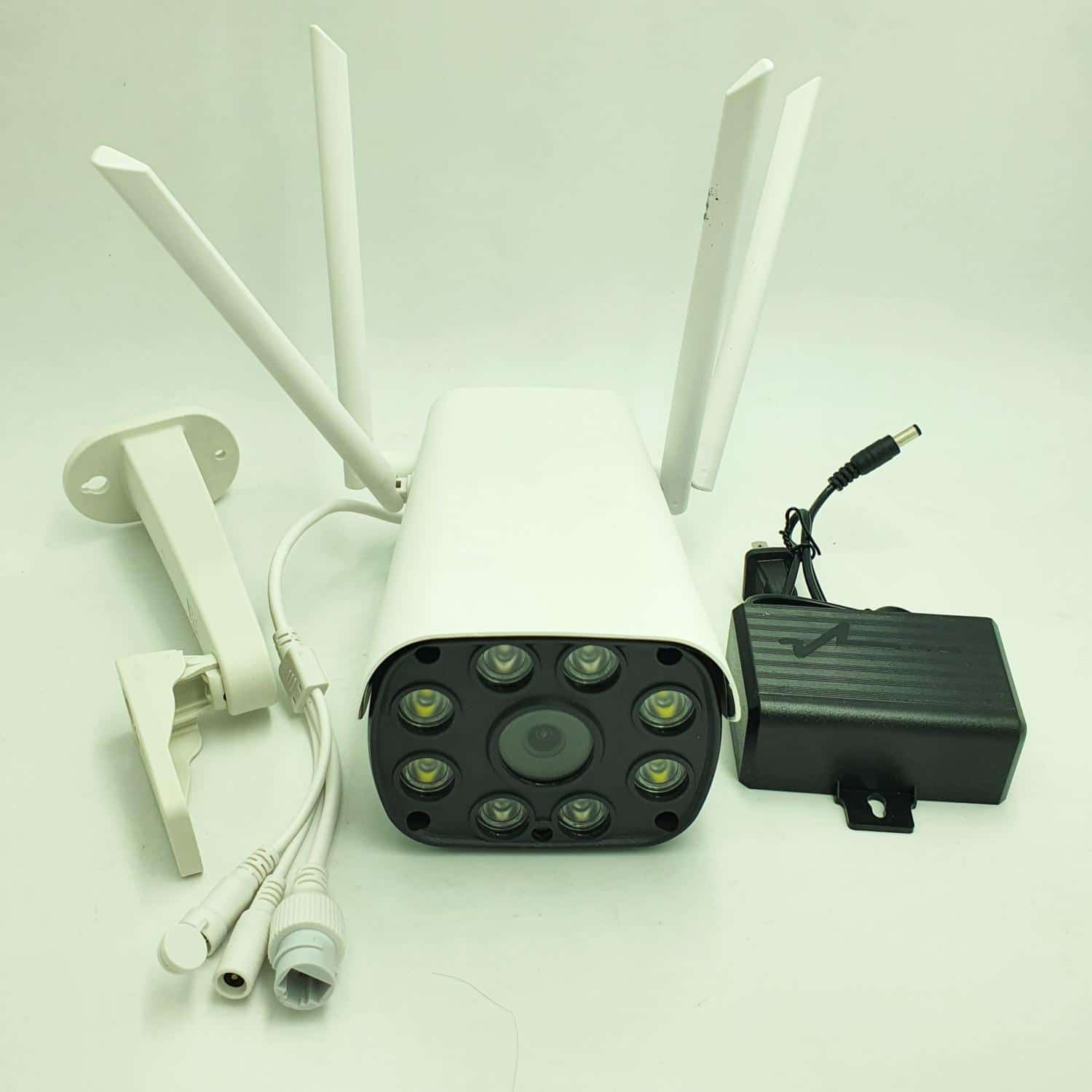 Wireless Security Camera System front view
