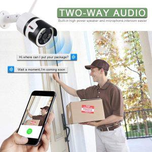 wireless CCTV WiFi camera